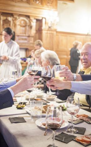 Evento gastronómico en el Palacio Miramar para 200 invitados. San Sebastián 2014